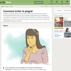 Comment éviter le plagiat: 7 étapes