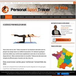 Comment se muscler le dos : exercice et conseils