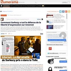 Comment Sarkozy a tué la défense de la liberté d'expression sur Internet