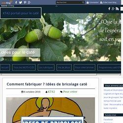 Comment fabriquer ? Idées de bricolage caté - KT42 portail pour le caté