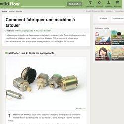 Comment fabriquer une machine à tatouer: 10 étapes