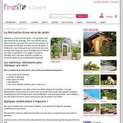 Comment fabriquer une serre de jardin ?