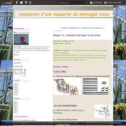 Séance 11: Comment fabriquer la structure - Le blog de ecarnot