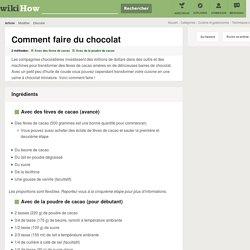 Comment faire du chocolat: 20 étapes