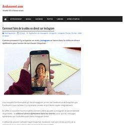 Comment faire de la vidéo en direct sur Instagram