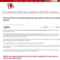 Clarifi : des photos macro avec votre iPhone