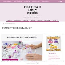 Comment Faire de la Fimo : Les Trucs et Astuces Fimo