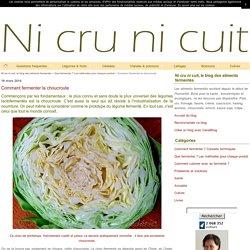 Comment fermenter la choucroute