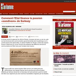 Comment l'Etat finance la passion