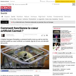 Comment fonctionne le cœur artificiel Carmat ? - 3 mars 2014