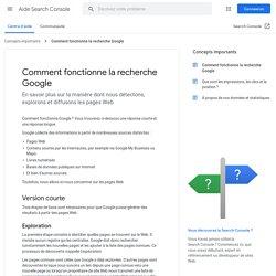 Comment fonctionne la recherche Google - Aide Search Console
