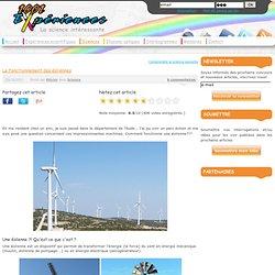 Comment fonctionnent les éoliennes ?