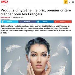 Comment les Français choisissent leur gel...
