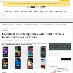 Comment Wiko est devenu le n°2 français des smartphones derrière Samsung