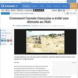 International : Mali: comment l'armée française a évité une déroute
