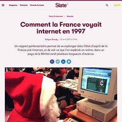 Comment la France voyait internet en 1997