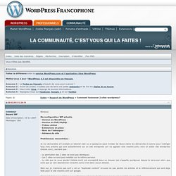 Comment fusionner 2 sites wordpress?