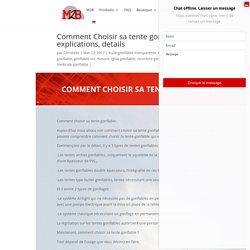 Comment Choisir sa tente gonflable, explications, details