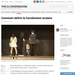 Comment définir le harcèlement scolaire