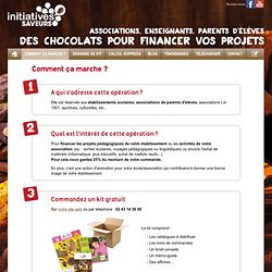Comment ça marche ? - Initiatives saveurs - Initiatives saveurs