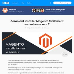 Comment installer Magento en 5 étapes ?