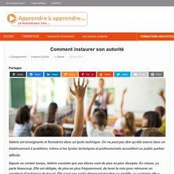 Comment instaurer son autorité dans une classe avec un public difficile ?