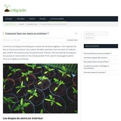 Comment faire ses semis en intérieur sans risques ?