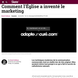 Comment l'Église a inventé le marketing