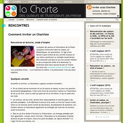 Comment inviter un Chartiste
