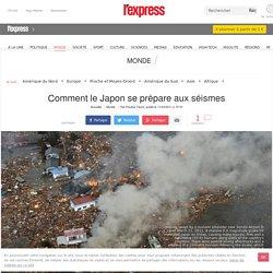 Comment le Japon se prépare aux séismes