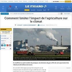 Comment limiter l'impact de l'agriculture sur le climat