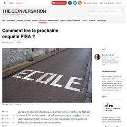 Comment lire la prochaine enquête PISA?