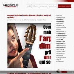 Comment maitriser l'arpège diminué grâce à un motif qui se répète sur la guitare manouche