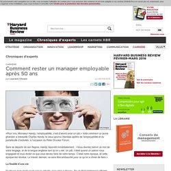 Comment rester un manager employable après 50 ans