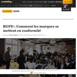 RGPD : Comment les marques se mettent en conformité