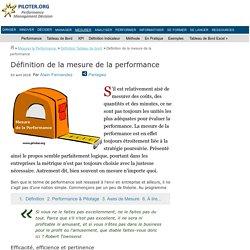 Comment mesurer la performance ?