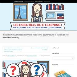 Comment mesurer le succès d'un module e-learning
