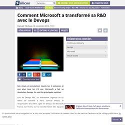 Comment Microsoft a transformé sa R&D avec le Devops