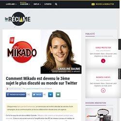 Comment Mikado est devenu le 3ème sujet le plus discuté au monde sur Twitter