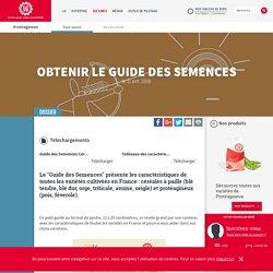 LGSEEDS 11/04/16 Guide des Semences