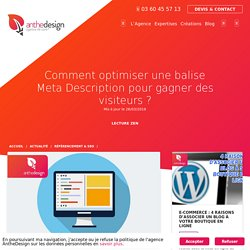 Comment optimiser une balise Meta Description ?