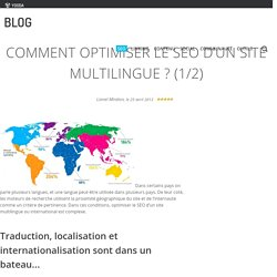 Comment optimiser le SEO d'un site multilingue ? (1/2)
