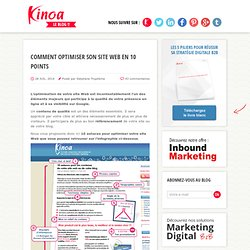 Comment optimiser son site Web en 10 points