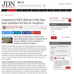 Comment la SNCF déploie le Big Data pour optimiser les flux de voyageurs