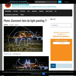 Comment faire du light painting ? Explications