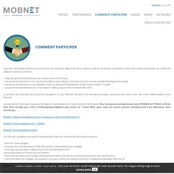 Comment participer - Mobnet