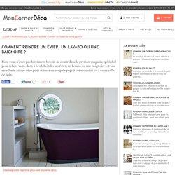 Comment peindre un évier, un lavabo ou une baignoire