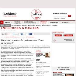 Comment mesurer la performance d'une entreprise