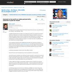 Comment un bon profil sur viadeo peut permettre d'atteindre le graal de l'emploi - (Navigation privée)