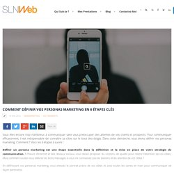 Comment définir vos personas marketing en 6 étapes clés